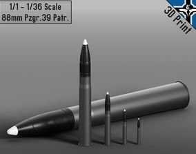 3D printable model Small Scale - 88mm Pzgr 39 Patr --- 6