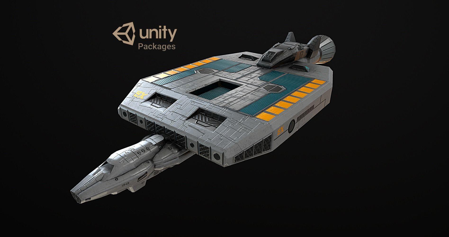 Spaceship 19x VR ready  2k poly