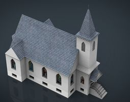 3D model AMERICAN CHURCH