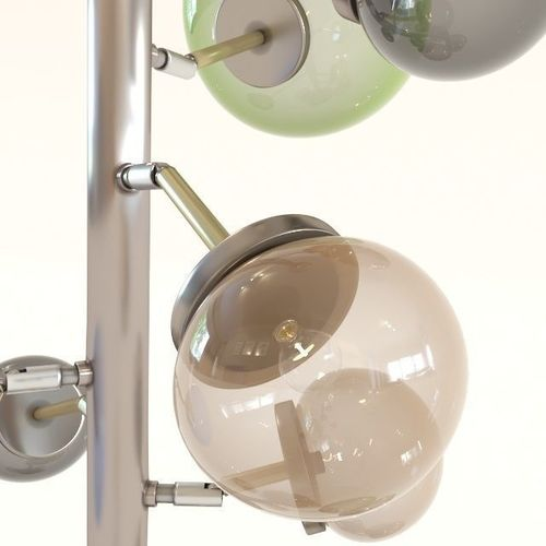 Floor Lamp Balloon Colore Led Model Max Obj Mtl 3