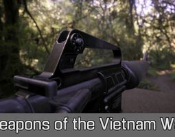 Weapons of the Vietnam War 3D model