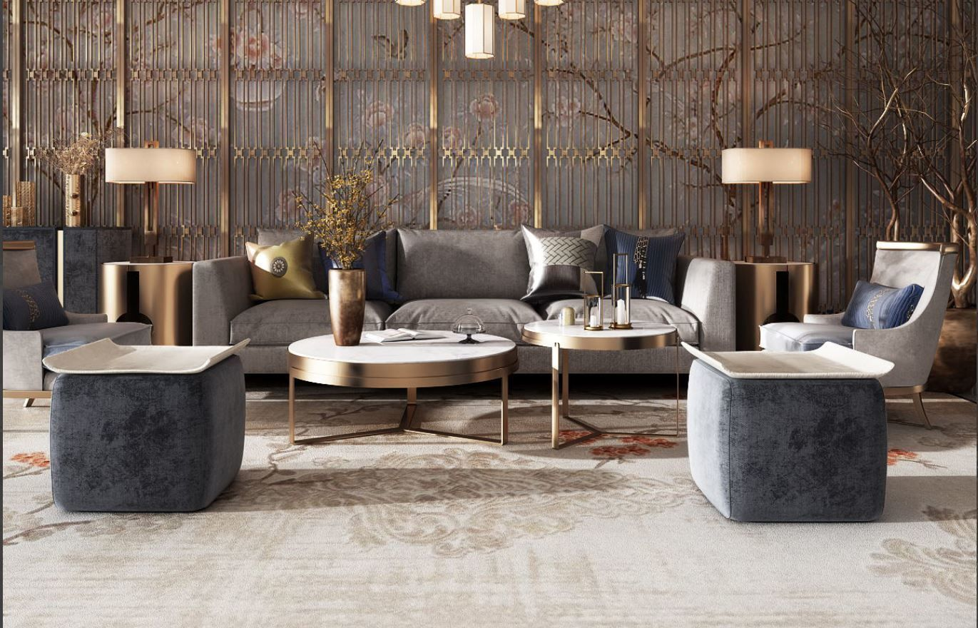 beautiful livingroom | 3D model