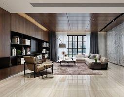 bedroom modern livingroom 3D
