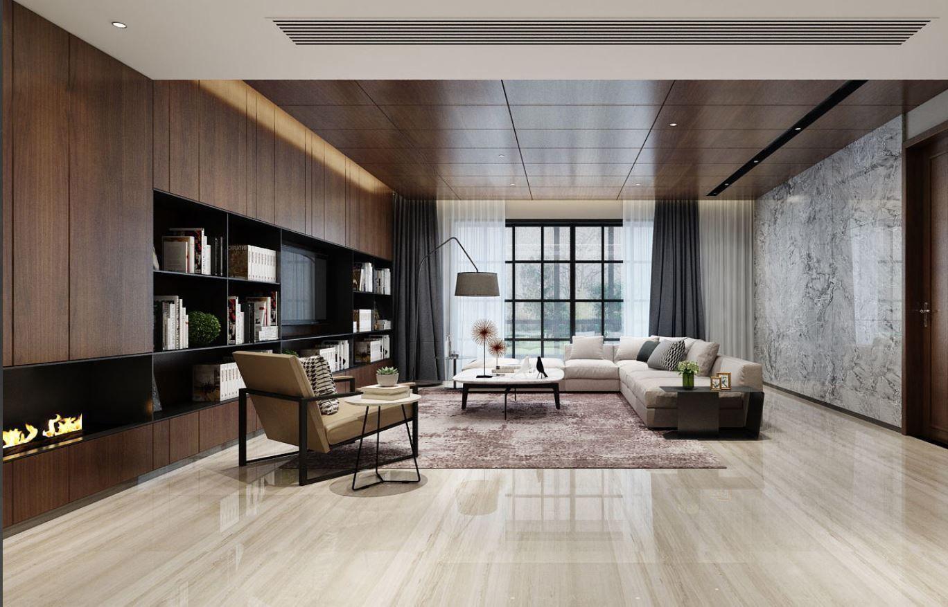 modern livingroom | 3D model
