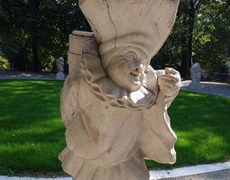 3D print model Mirabell Palace Salzburg - Dwarf with Back