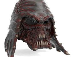 3D print model Star Wars Darth Vader Organic Helmet file