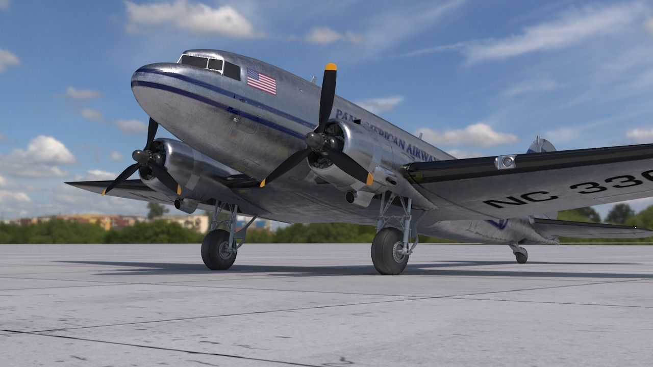 DC-3 Pan American Airways System PBR