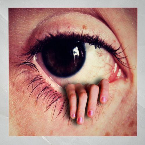 canvas art horror eye 3d model low-poly fbx 1