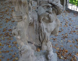 Mirabell Palace Salzburg - Dwarf with 3D print model