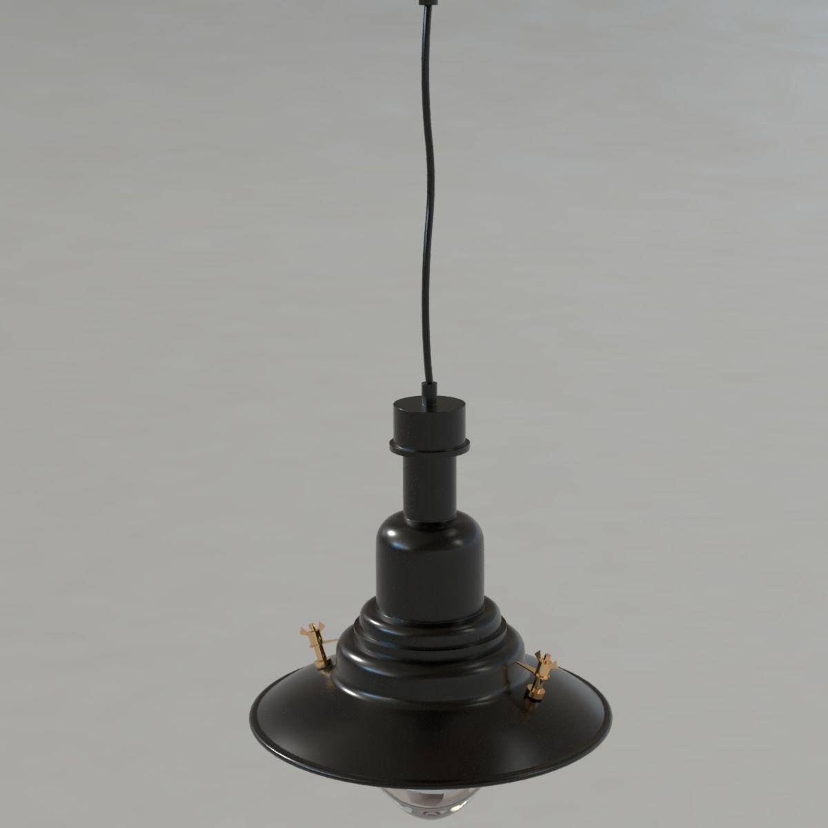 3D IKEA ottava lamp | CGTrader