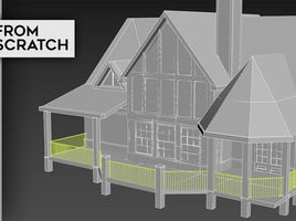 3D Modelling : Creating a Fence/Railing in Under 2 Minutes!
