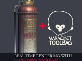 Real Time Rendering With Marmoset Toolbag
