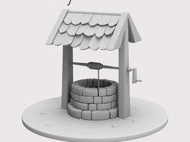 Maya Modeling Tutorial -water well