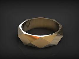 Easy Ring in Rhinoceros 3D.