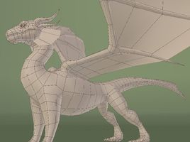 Modelling of Dragon Ignacius in Blender for beginners