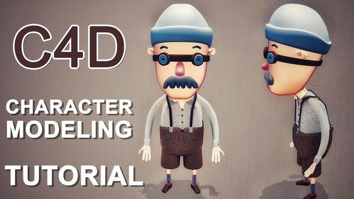 Toon | Simple Character Modeling | Cinema 4D Tutorial | CGTrader
