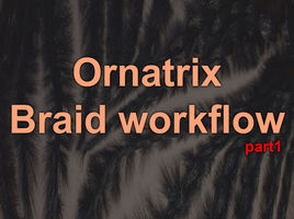 Why I've switched to Ornatrix for Maya. Demonstration of Viewport 2.0 and HairPhysicalShader