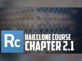 Railclone interface. Style Editor and Curve Steps option. Railclone object creation.