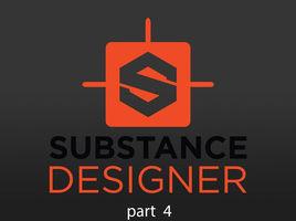 Substance Designer 2018. Blend, Shape, WaveForm1, BlurHQGrayscale and Tile Generator.