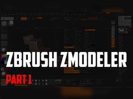 Zbrush Zmodeler. Zmodeler Brush. Polygon Actions - Add to curve. Bevel and Bridge.