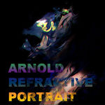 Arnold Renderer refractive portrait in Maya.