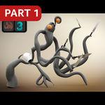 Ornatrix/3ds Max: Kitchen Monster. 1 series.