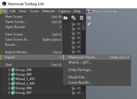 CGTrader now supports Marmoset Viewer embeds 3