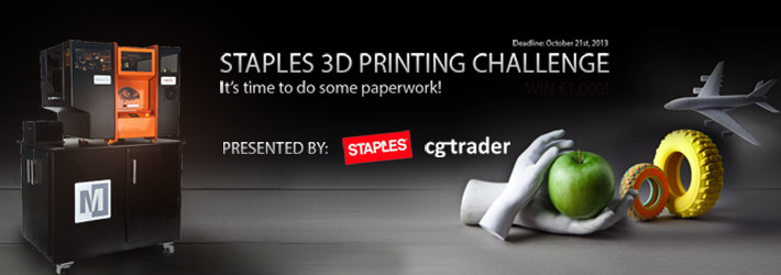 Paperwork Has Been Done: The Best Staples 3D Printable Models