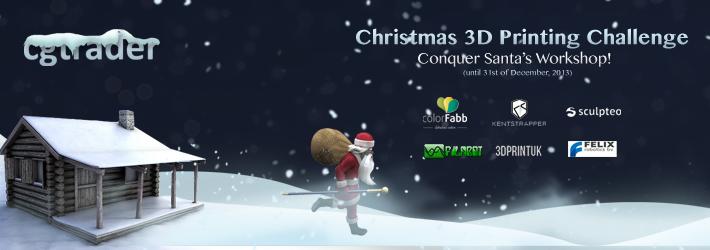 Christmas 3D Printing Challenge: Conquer Santa's Workshop