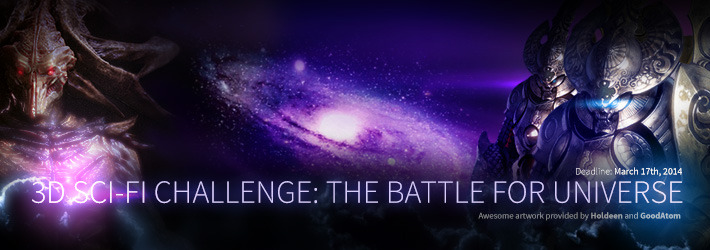 3D Sci-Fi Challenge: Extend The Universe