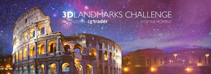3D Landmark Challenge: Admire The Moment