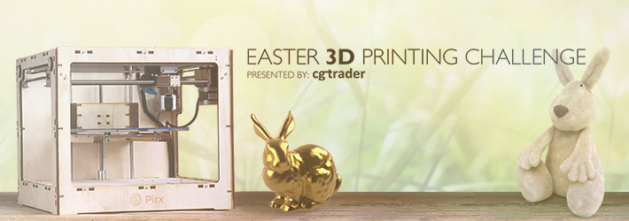 Easter 3D Printing Challenge: We found some eggs!