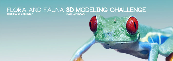 Announcing the winners of Flora & Fauna 3D modeling challenge