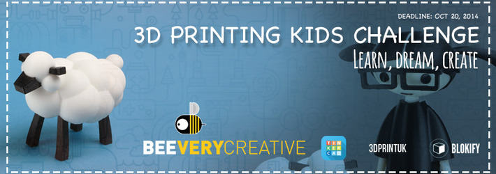 3d Printing Kids Challenge Learn Dream Create Blog