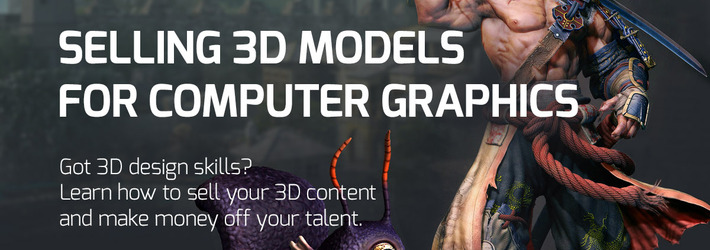 INFOGRAPHIC: Exclusive Data on How to Sell 3D Models