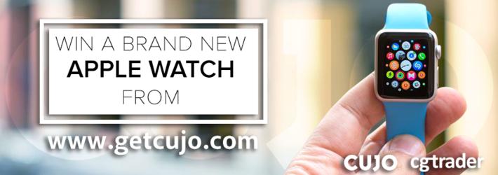 Win a brand new Apple Sport Watch from www.getcujo.com!