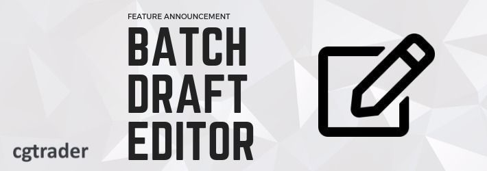Save time by editing multiple drafts with our newest feature