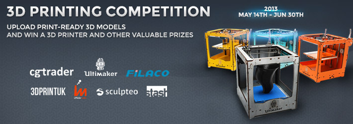 Make It Real: 3D Printing Competition
